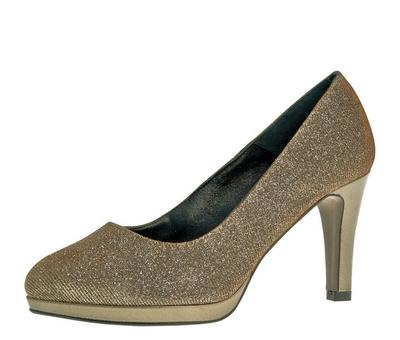 SALE: statt 209.- Pump Renate bronze (7.5cm)